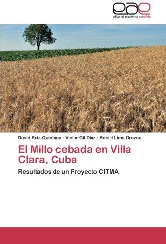 El Millo Cebada En Villa Clara, Cuba