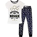Official Ladies Character Pyjamas Pyjama Set Pjs Sleepwear Nightwear Lounge Pants Cuffed Bottoms T Shirt Womens Gift Size 8-2