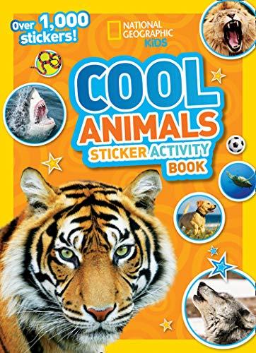 National Geographic Kids Cool Animals Sticker Activity Book: Over 1,000 Stickers! (National Geographic Sticker Activity Book)