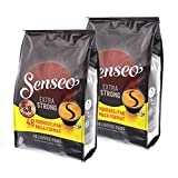 Senseo coffee Pads Extra Strong, Extra Strong, rich and Full-Bodied flavour, coffee for Kaffepadmaschinen 96 Pads