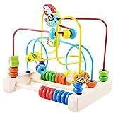 Kinderspielzeug, Kreis Perlen Intellektuelle Entwicklung Holzblöcke