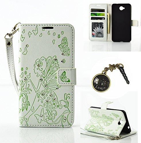 Preisvergleich Produktbild PU Silikon Schutzhülle Handyhülle Painted pc case cover hülle Handy-Fall-Haut Shell Abdeckungen für Nokia lumia 650 N650 +Staubstecker (2AA)