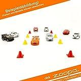 ACME - MicroSizers - Rückzieh-Autos | 5er Set + 10 Pylonen(HCAC1111)