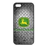 iPhone 5 5s SE Cell Phone Case Black John Deere JD Logo Custom Case Cover WDGI11697