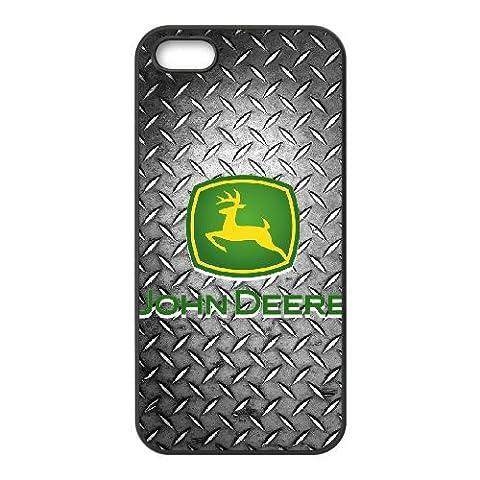 iPhone 5 5s SE Cell Phone Case Black John Deere