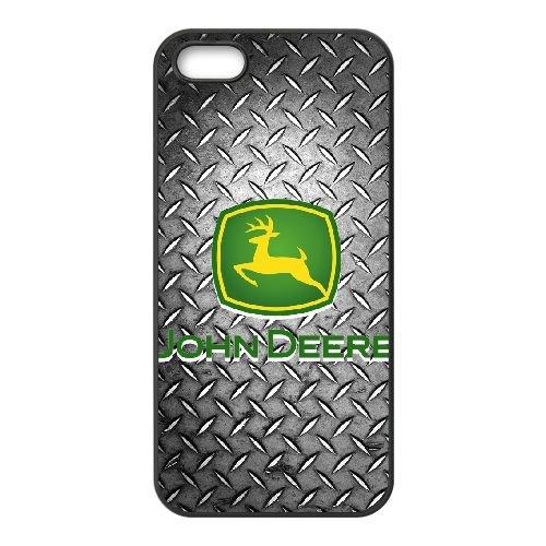 iPhone 5 5s SE Cell Phone Case Black John Deere JD Logo Custom Case Cover WDGI11697 (5s Iphone Wwe)