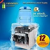 Yoli® di alta qualità 25kg/24HOURS Ice Maker Portable Automatic Round Ice il pane/cubo di ghiaccio macchina con tre taglie