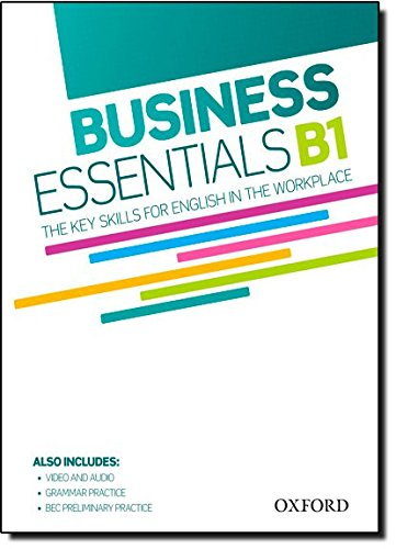 Business Essentials B1: Student's Book with DVD
