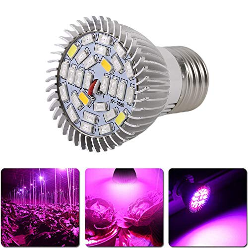 Deasengmins Lámpara Cultivo Plantas luz LED Full