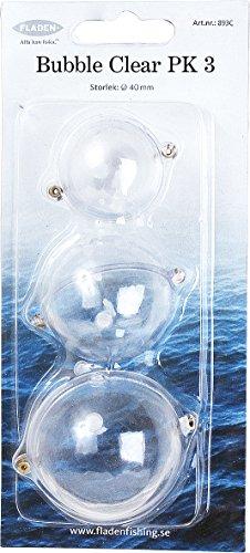Fladen 3pk Wasserkugeln, verschiedene Größen Transparent farblos
