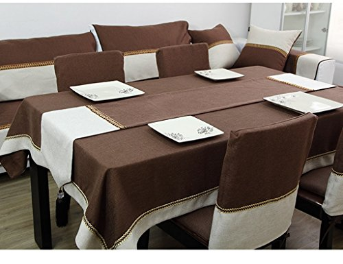 QiangZi Moderne Chinois Chemin De Table Tissu V-forme Tassel Nappe Isolation Classique Table Mat Nuptiale De Douche Utilisation Quotidienne, 32 * 160 CM ( Couleur : Rouge , taille : 32*200cm )