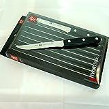 Zwilling Steakset TWIN Steak-Sets schwarz/silber Rostfreier Spezialstahl, ZWILLING Sonderschmelze: Diese Messer sind stabil, korrosionsbeständig und zugleich flexibel TWIN® Pollux