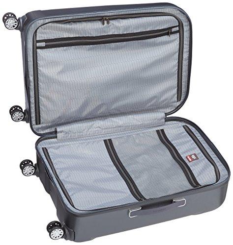 Travelite Durchläufer Koffer, 75 cm, 113 L, Anthrazit -