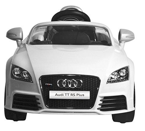 Mera Toy Shop Audi TT RS Plus Electric Motor Car-White