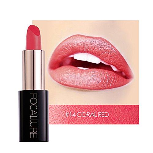 Matte Lippenstift Wasserdichte Make-up Lippen langlebige Lippenstift kosmetische Schönheit...