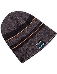 Tricoté Casque Bluetooth Casque sans fil Smart Music Ladies Fashion Bluetooth Hat