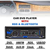 rk-8828b 12 V 1 DIN Bluetooth coche reproductor de DVD Apoyo VCD/SD/USB/AUX integrado AM/FM/RDS Radio estéreo