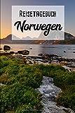 Reisetagebuch Norwegen: Mein Reisetagebuch zum Selberschreiben und Gestalten von Erinnerungen, Notizen in Skandinavien - A5 Block kariert - 120 Seiten ... plus Norge BONUS Checklisten - Motiv: LOFOTEN