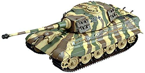 Easy model 36295 - modellino di carro armato tiger ii, battaglione 505, scala 1:72