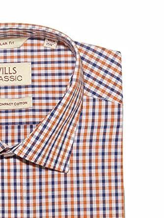 Wills Lifestyle Men Slim Fit Cotton FORMAL SHIRT