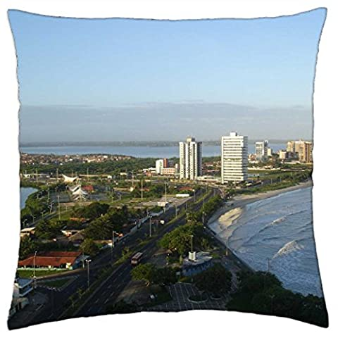 Maranhao Brazil. - Throw Pillow Cover Case (18