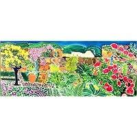 Stampa su tela 120 x 50 cm: Convent Gardens, Antigua,