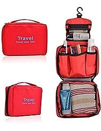 [Sponsored]Mk Waterproof Necessaries Makeup Organizer Toiletry Bag For Women Men Travel Kits Make Up Cosmetic Organizer-Assorted...
