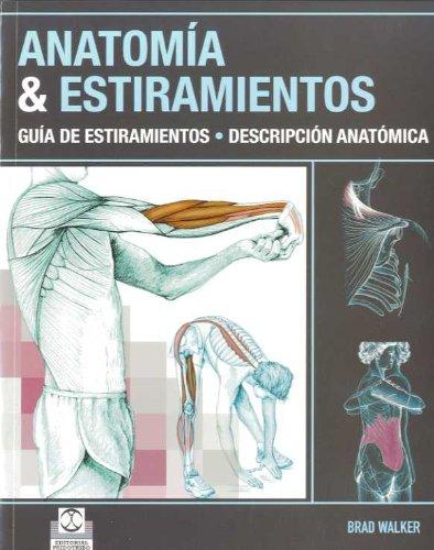 Anatomía Y Estiramientos (Deportes) por Brad Walker