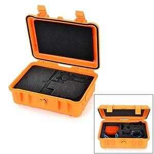 HGYBEST Professional Waterproof Dustproof Pressure-proof Safety Box for GoPro 2 / 3 / 3+ (Orange)