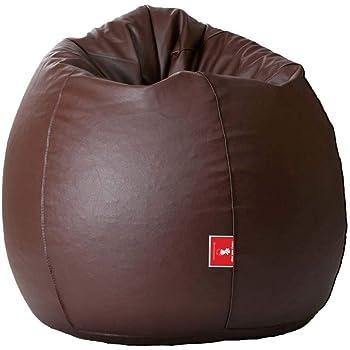 Biggie Bags Bean Bag XXXL Size Brown Filled