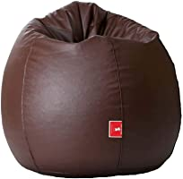 Biggie Bags Bean Bag XXXL Size Brown Filled