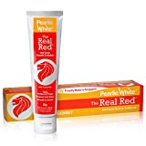 Pearlie White The Real Red Anti-Cavity Fluoride Toothpaste (4.8oz) 138g