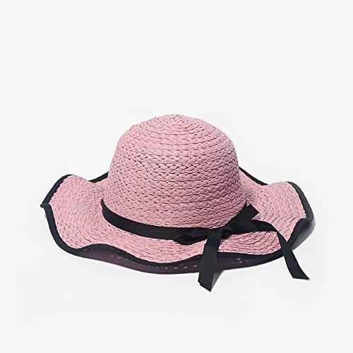 zhangyongspring-tide-cappuccio-spiaggia-femmina-cappello-di-paglia-nero-bow-tie-hat-europe-tour-eleg