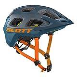 Scott Vivo Plus MTB Fahrrad Helm blau/orange 2018: Größe: M (55-59cm)