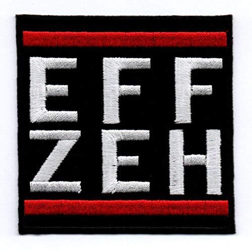 Eff Zeh Aufnäher/Bügelbild / Abzeichen/Iron on Patch