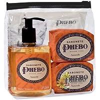 Macy's Skincare, Phebo Soap Bar Trio, Naturelle * Christmas / Birthday Gift Set by (Bar Soap Gift Set)