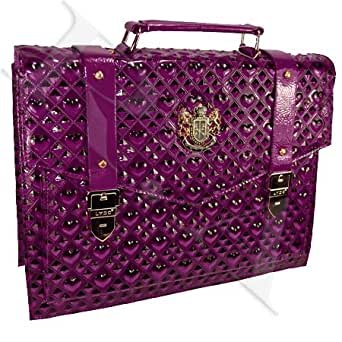 LYDC Purple Heart Business Bag