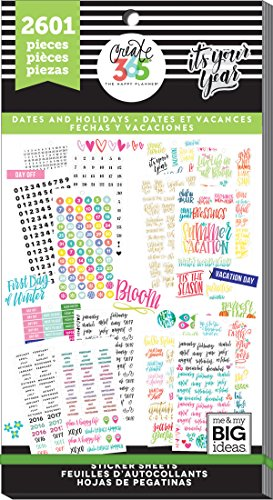 Me & My Big Ideas Happy planner sticker Value Pack