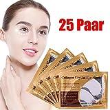 25 Paar Kollagen-Augenmasken, Anti-Falten, Anti-Aging, Augenringe-Patch, Feuchtigkeitsspender, hellt dunkle Augenränder auf,Beste Qualität