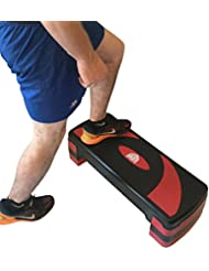 Goliath deporte aeróbico paso a paso, rojo