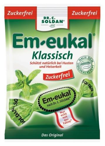 Em-Eukal Klassisch zuckerfrei Hustenbon, 5er Pack (5 x 75 g)