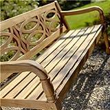 Hartman Cleobury 3 Seater Wooden Garden Bench
