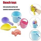 CHENWENEED Juego de Juguetes para la Piscina Infantil de la Playa, Juego de Herramientas con Cubo de Agua y Pala (como se Muestra)