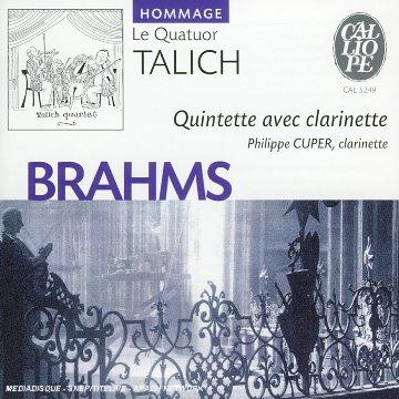 Brahms Quintette avec clarinette
