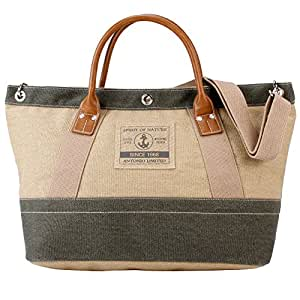 XXL motif plage et élégant sac à main style marin casualSpirit xL