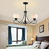 Lampadari ferro battuto illuminazione per - Lampadari per camera da letto classica ...