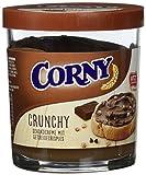 CORNY Crunchy Schoko Brotaufstrich, Schokocreme mit Getreidecrispies, 6er Pack (6 x 200g Glas)