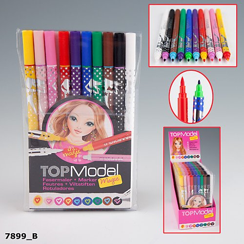 topmodel-fasermaler-filzstifte-magic-10-stifte-doppelfasermaler-dick-dunn