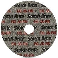 maxidetail ad9221unitarizado rueda, carburo de silicio, 3S Fin Scotch-Brite 125x 6x 22mm/3m