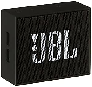 JBL GO JBLGOBLK Diffusore Bluetooth Portatile, Ricaricabile, Ingresso Aux-In, Vivavoce, Compatibilità Smartphone/Tablet e Dispositivo Mp3, Nero
